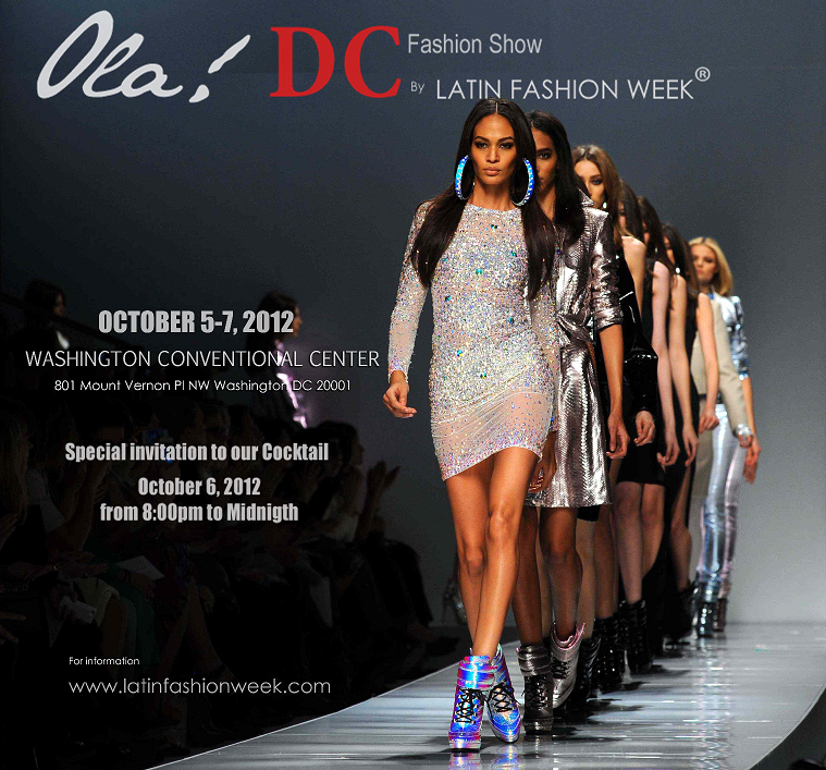 Latin Fashion Week Ola Dc 2012 Tickets Washington