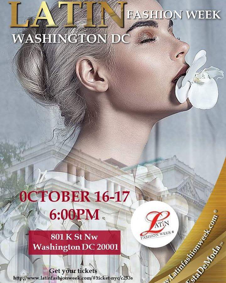 Latin fashion week DC 2015