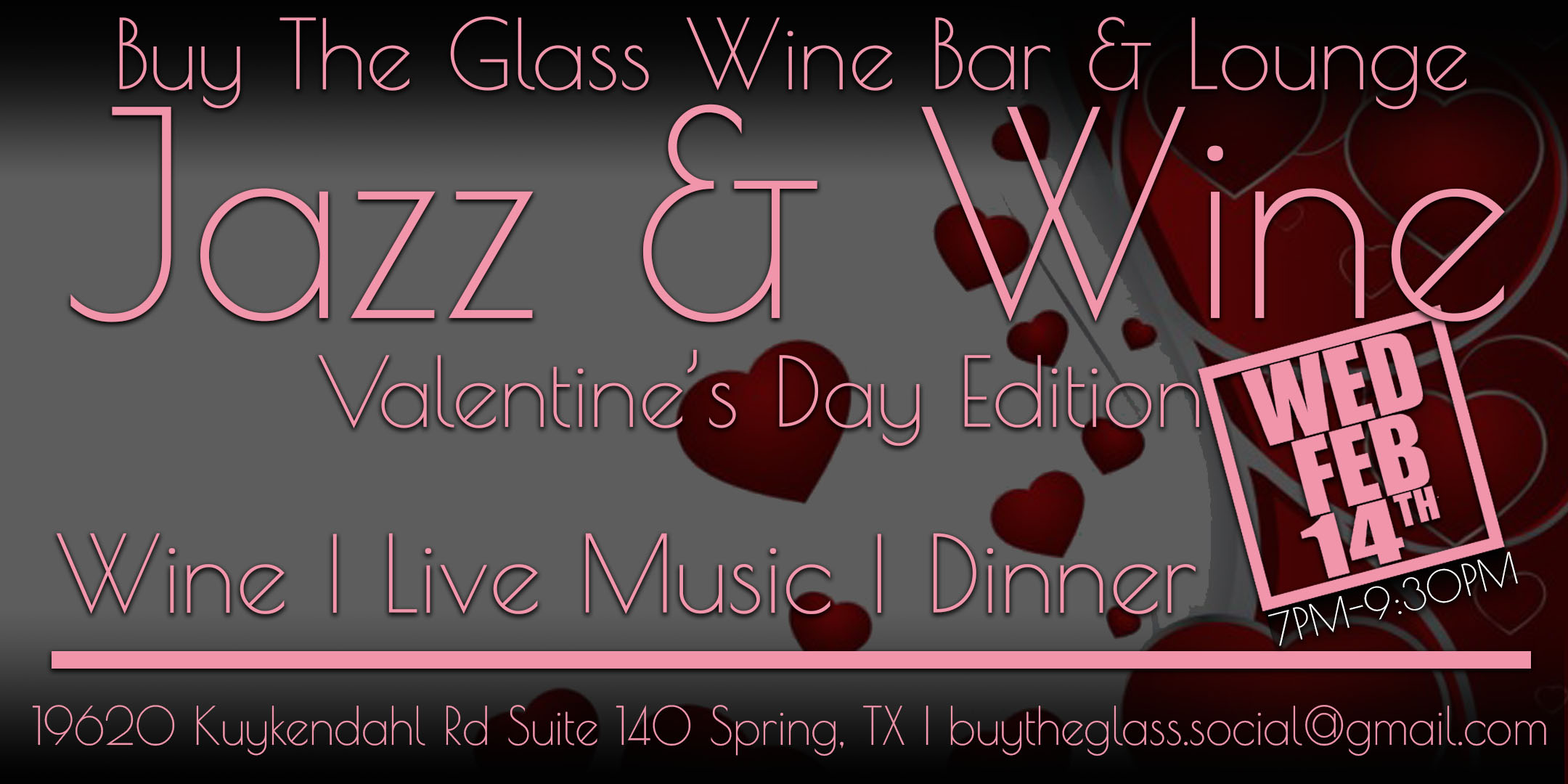 valentine's day jazz, dinner & wine | nw houston tickets, wed, feb, Ideas