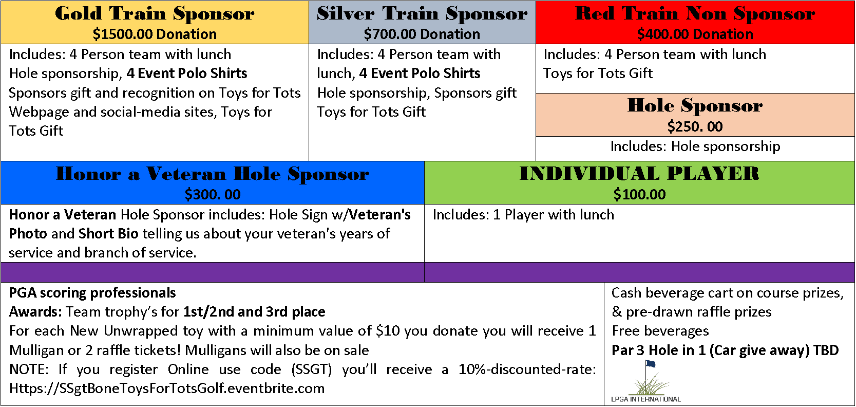 Toys For Tots Application Form : Nd annual ssgt bone quot honors toys for tots golf