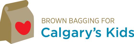 Brown Bagging Calgary's kids Logo
