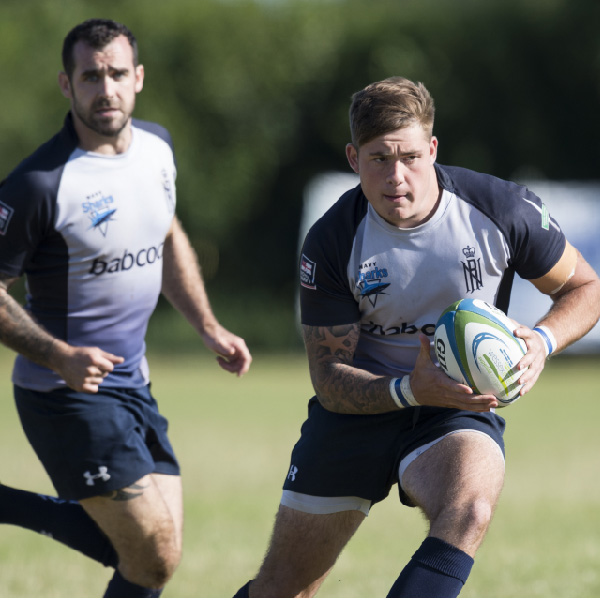 Royal Navy Sharks competing in the 2015 Tournament