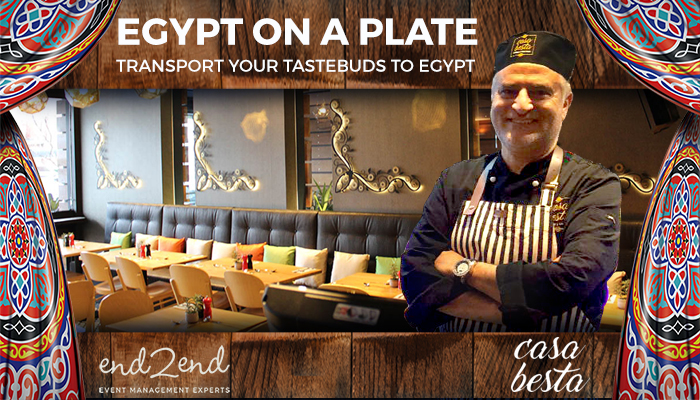 Experience Egyptian Cuisine with 5- Star Chef