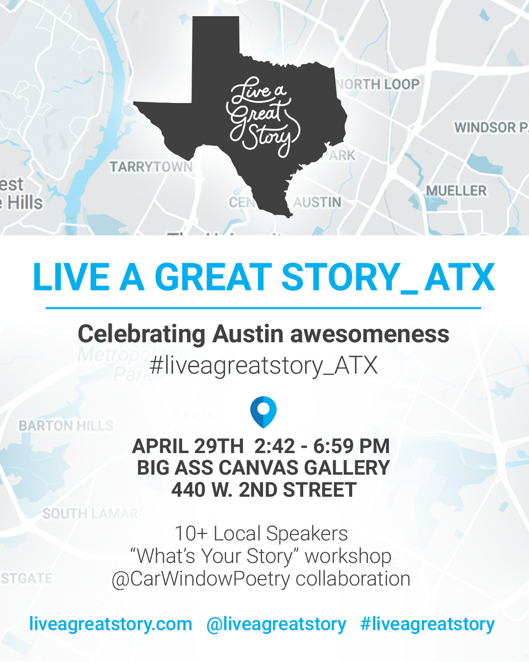 LIVE A GREAT STORY ATX