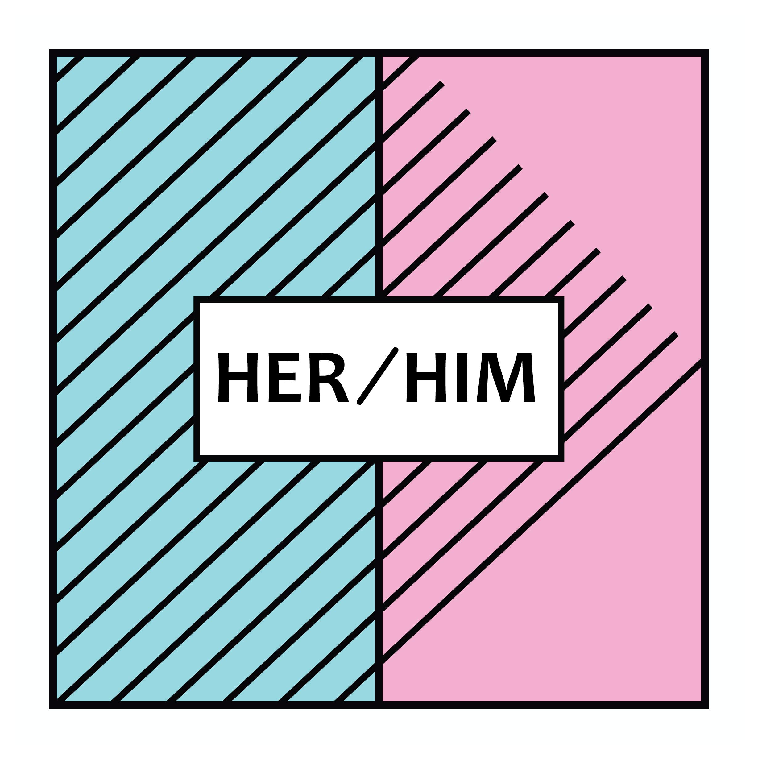 Her/Him logo