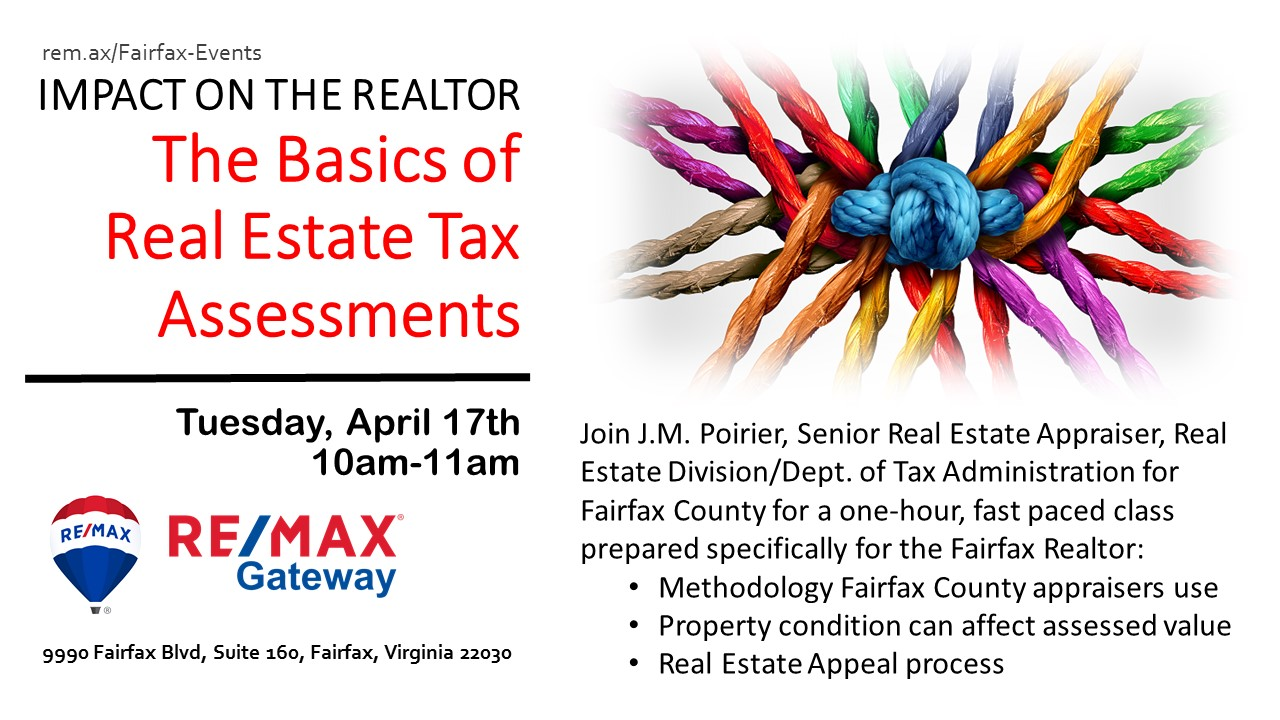 Fairfax County Realtor Tax Assessment Class 4.17.2017