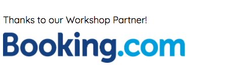 Thanks to our workshop partner Booking.com