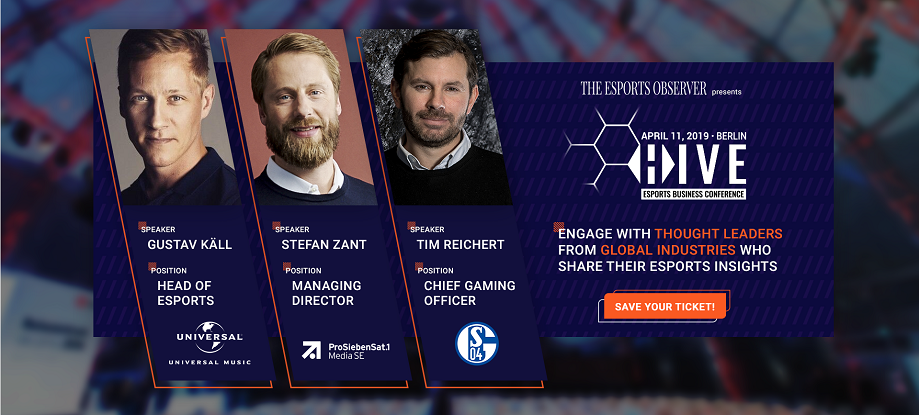 HIVE Berlin 2019 - The Esports Observer Business Conference