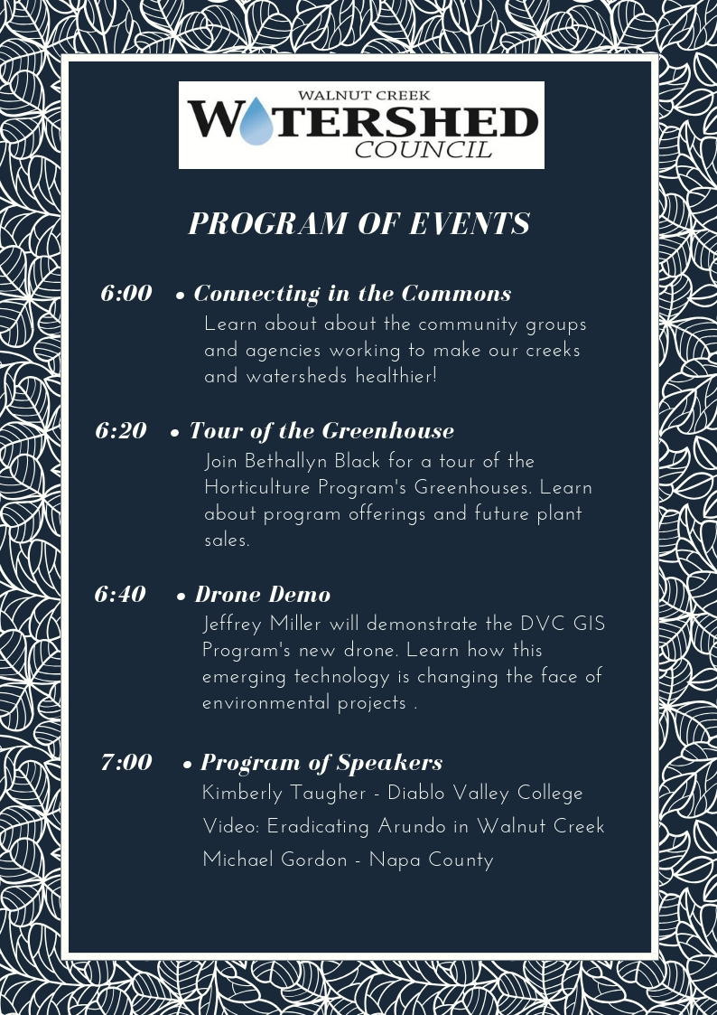 Creek Invaders Program for October 4th