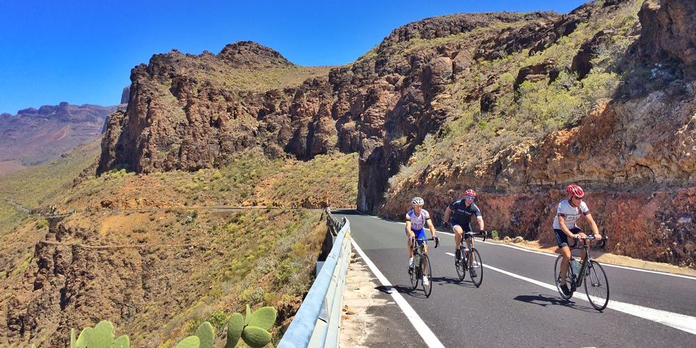 Cycling in the Gran Canaria