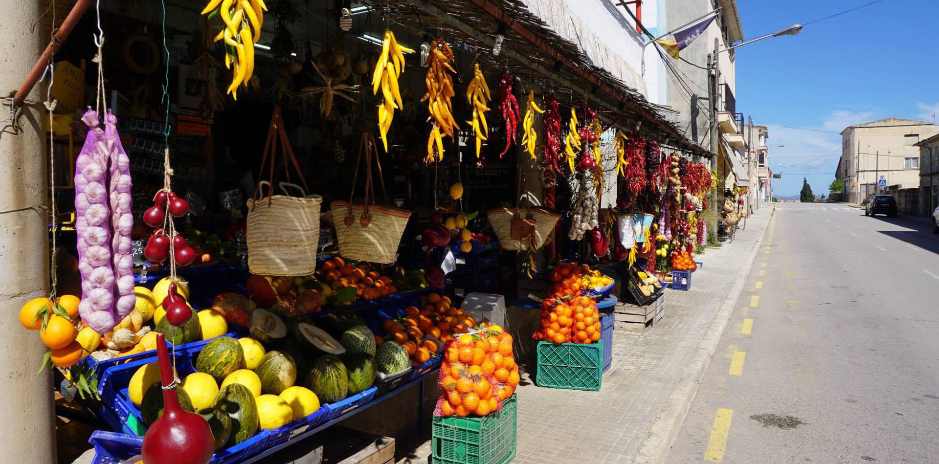 market in Mallorca