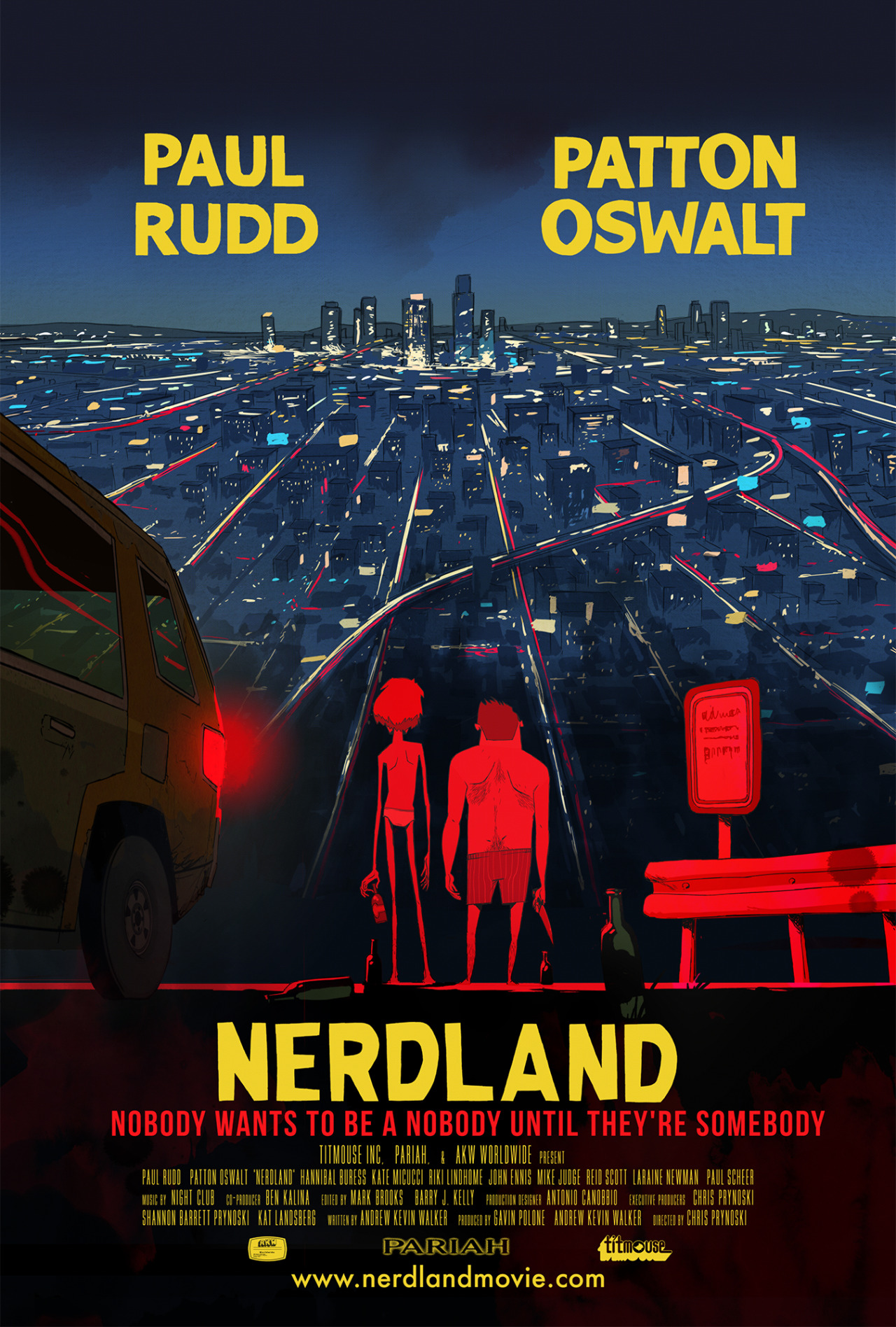 Nerdland starring Paul Rudd and Patton Oswalt
