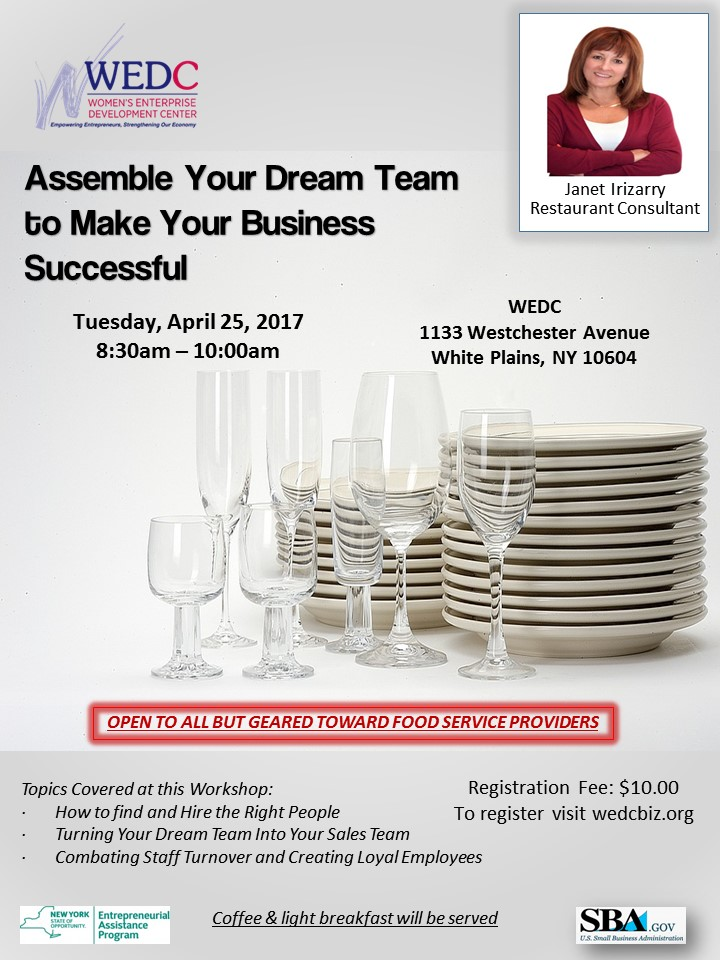Assemble Your Dream Team to Make Your Restaurant Successful