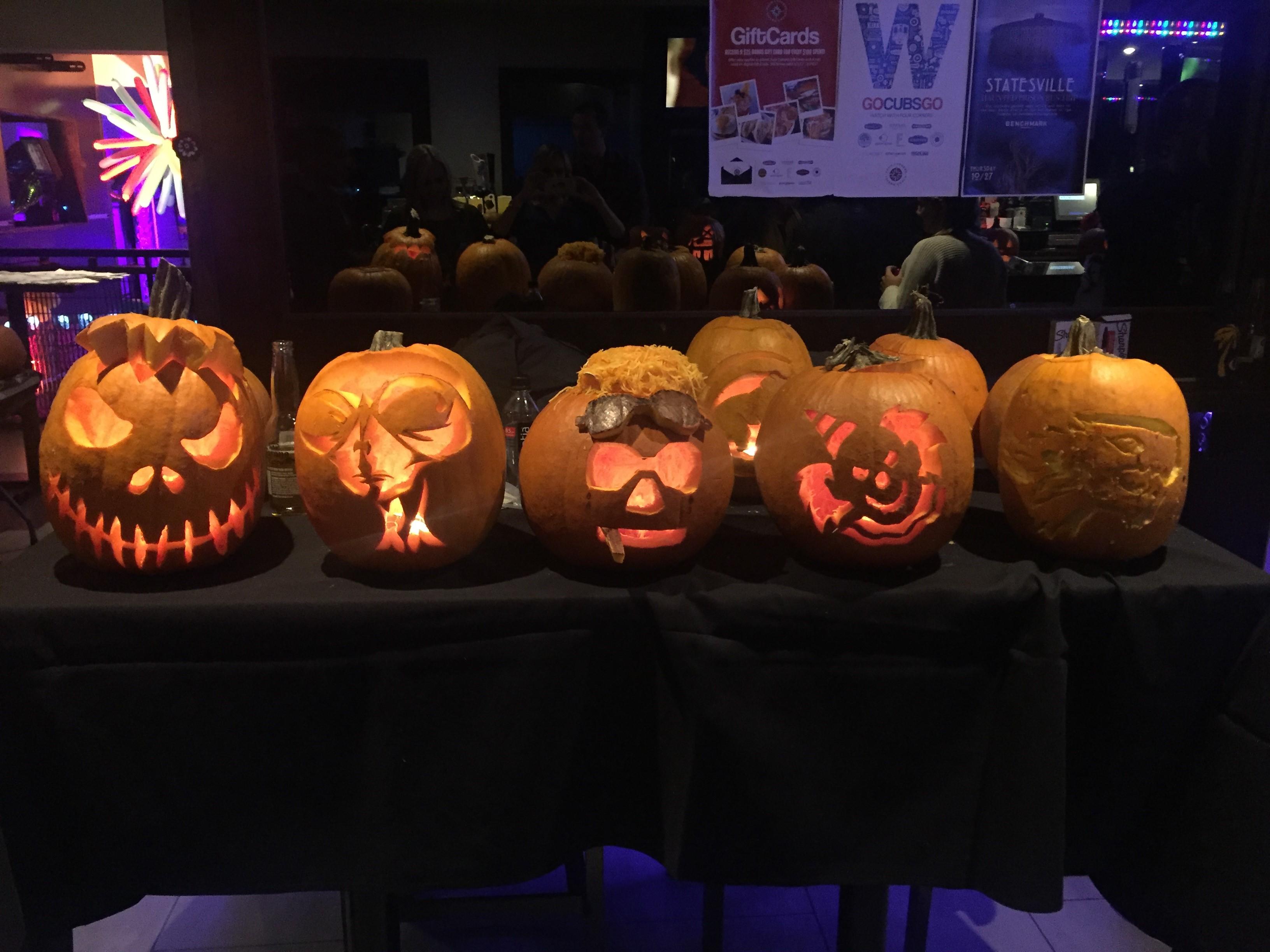 Pumpkin carving at benchmark tickets thu oct
