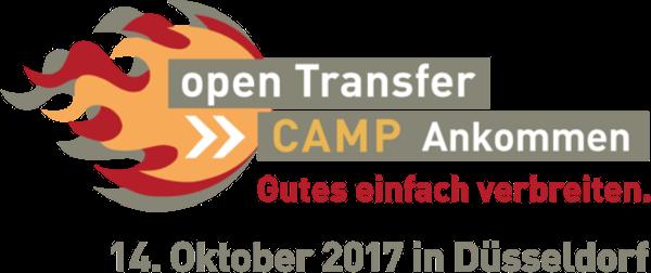 Logo des openTransfer Camps Düsseldorf