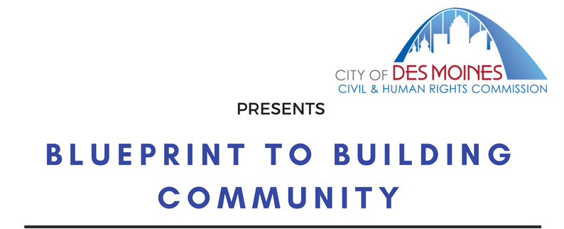 Blueprint to building community 32nd annual des moines civil and description malvernweather Choice Image