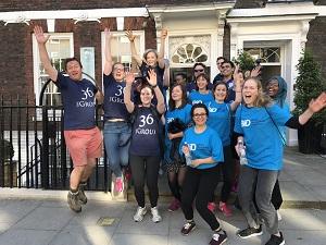Team BID Walk the Thames