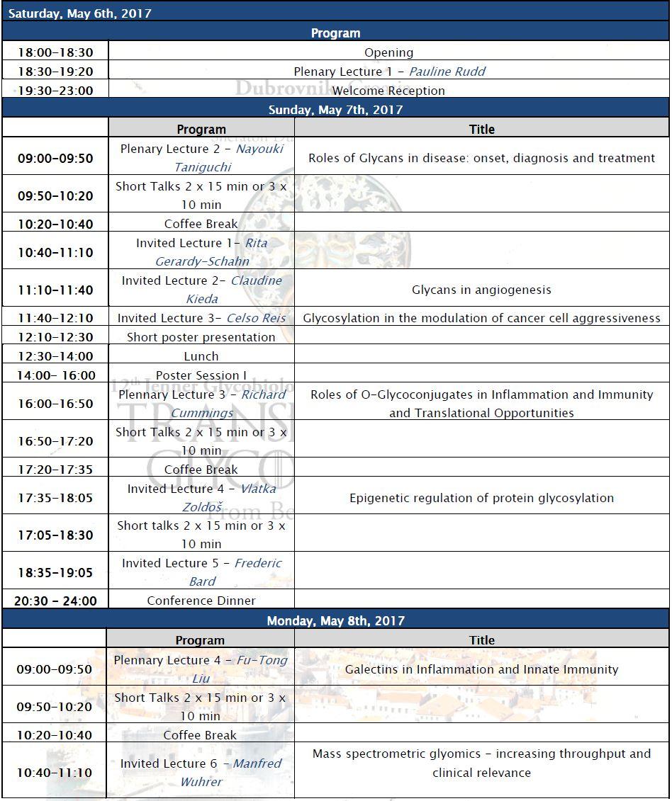 Glyco Program Information-1