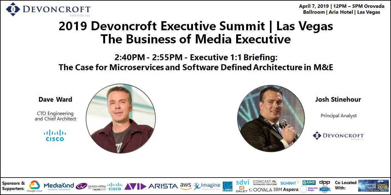 2019 Devoncroft Summit LV - Dave Ward - Cisco