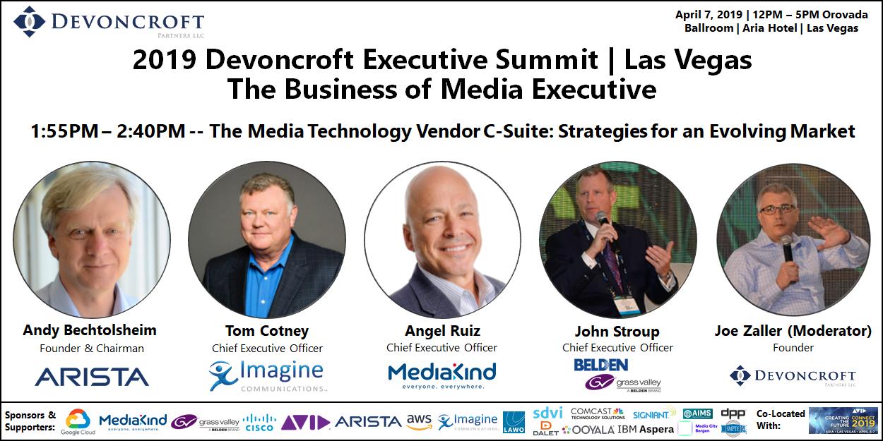 2019 Devoncroft Summit LV - Media Tech Vendor CEOs