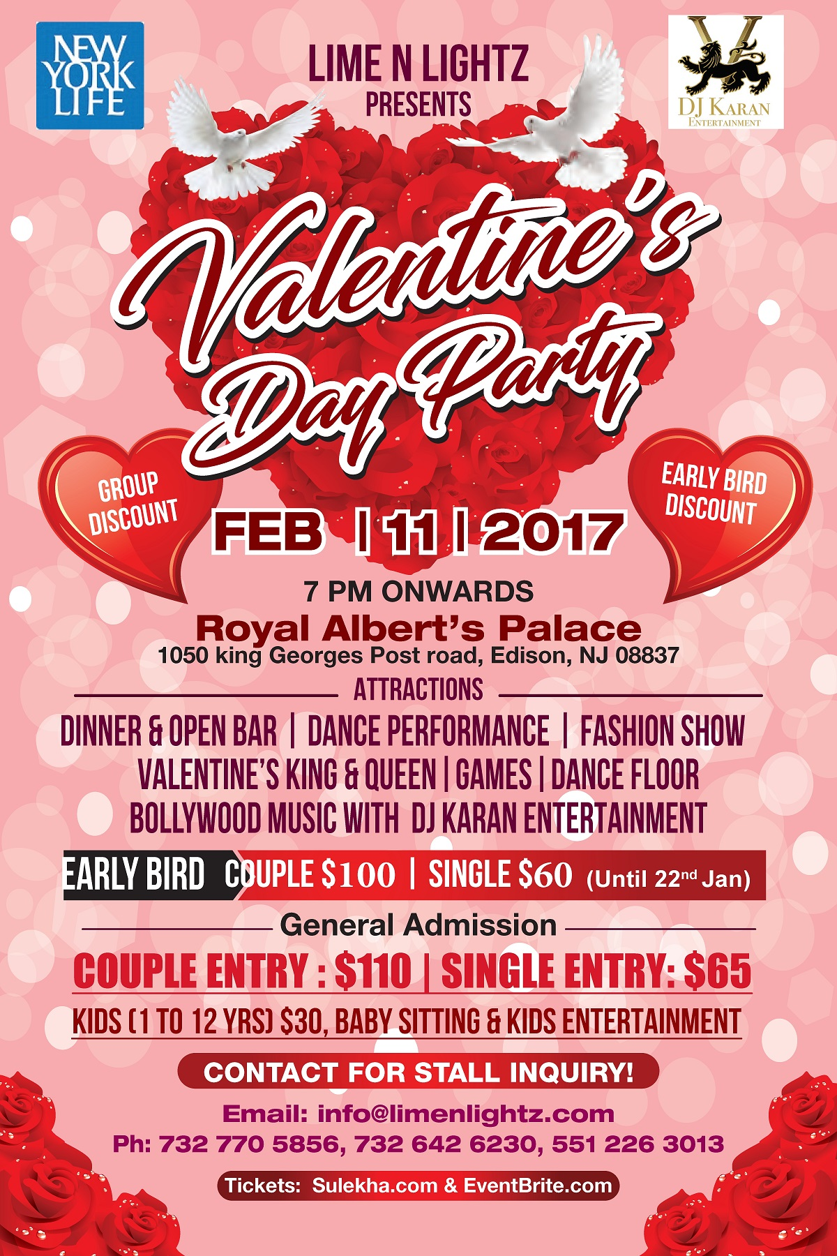 Valentine\'s Day Party Tickets, Sat, Feb 11, 2017 at 7:00 PM ...