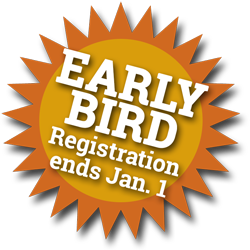 Special rate for early bird ends January 1st