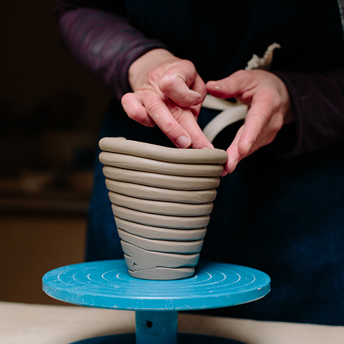 Pottery Making: Coil Building