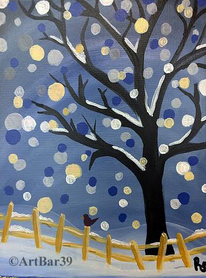 Polkadot tree