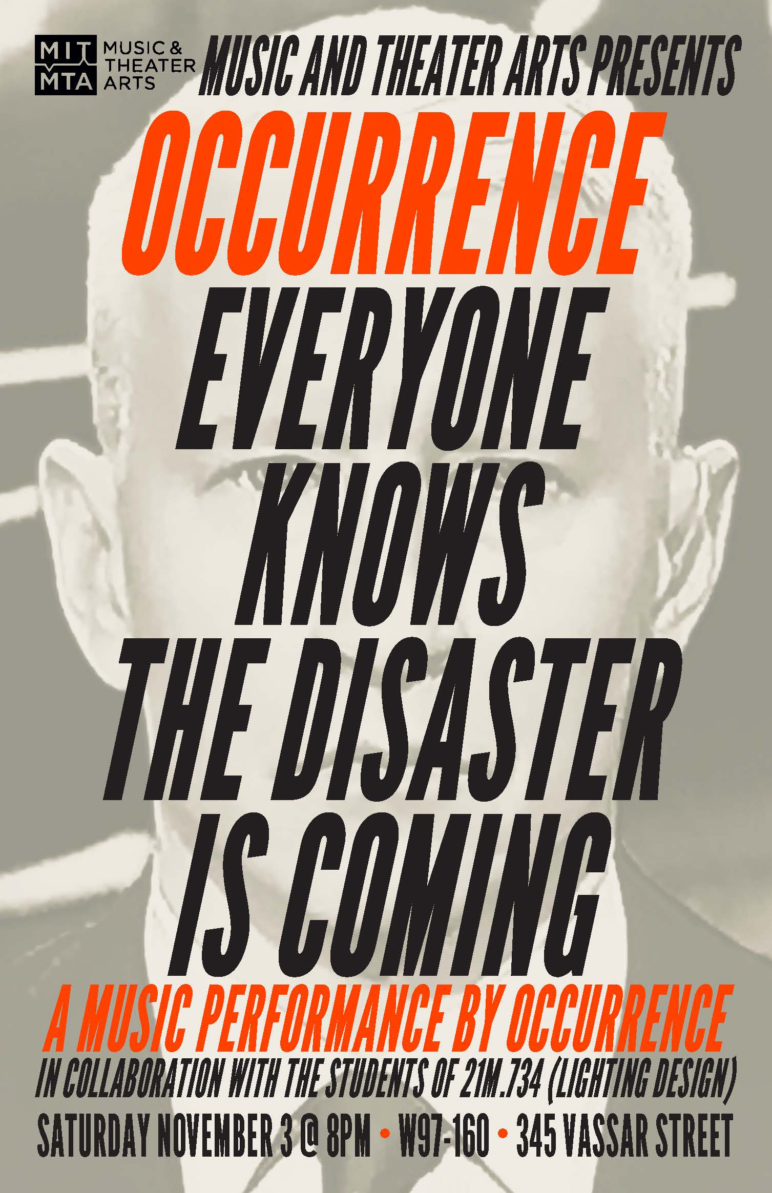 Occurence Performance Poster