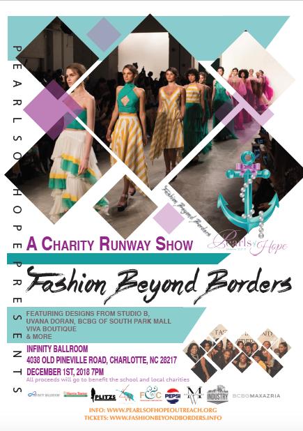 Fashion Beyond Borders Flyer 2018