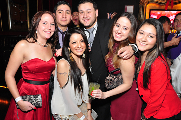 Chicago Holiday Party Networking River North Shay Latina