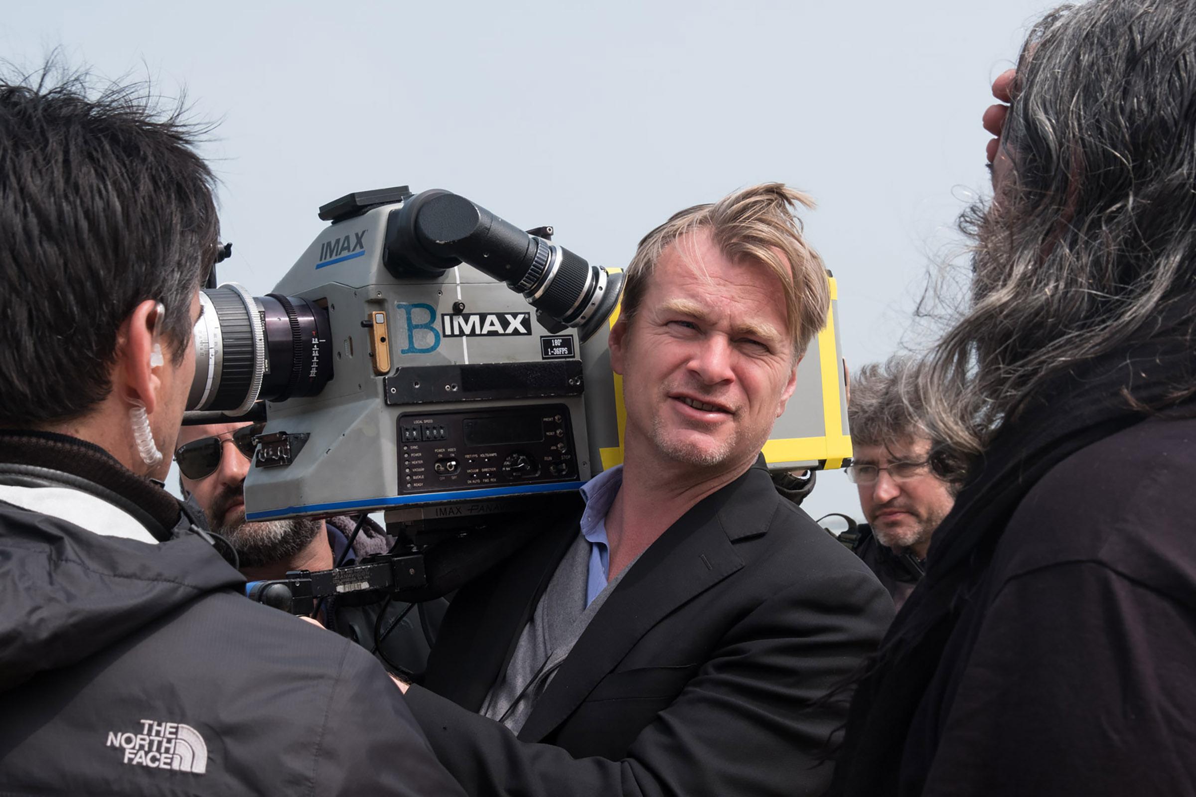 Christopher Nolan, courtesy of Warner Bros.