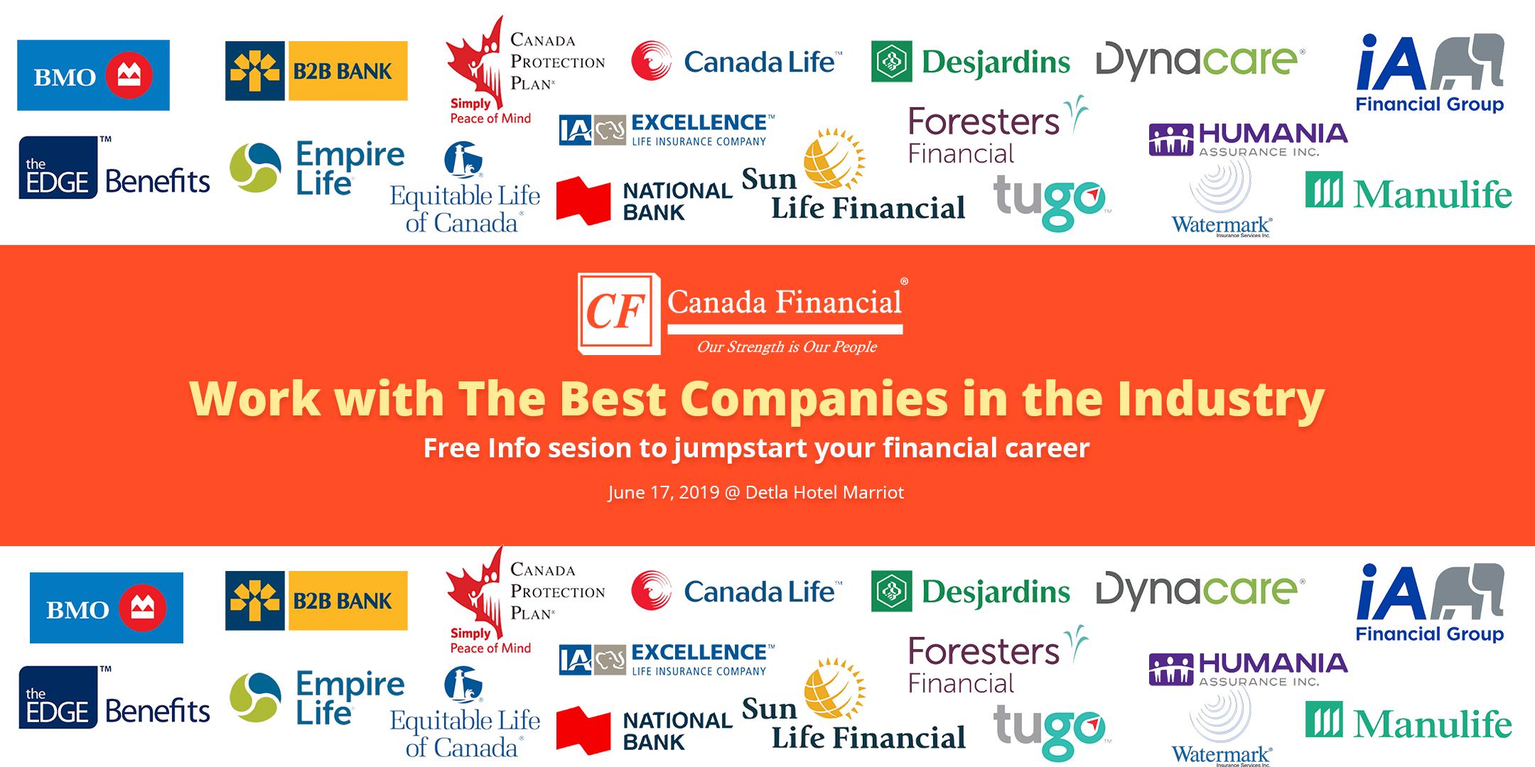 career seminar - company logos