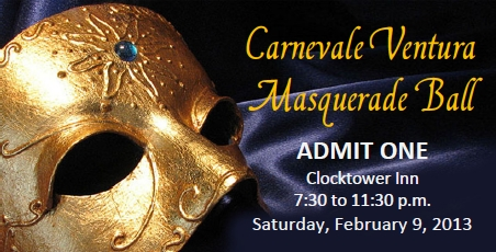 Masquerade Ball Ticket
