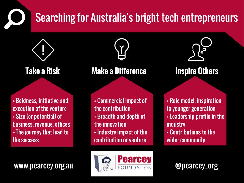 Pearcey Entrepreneur Awards