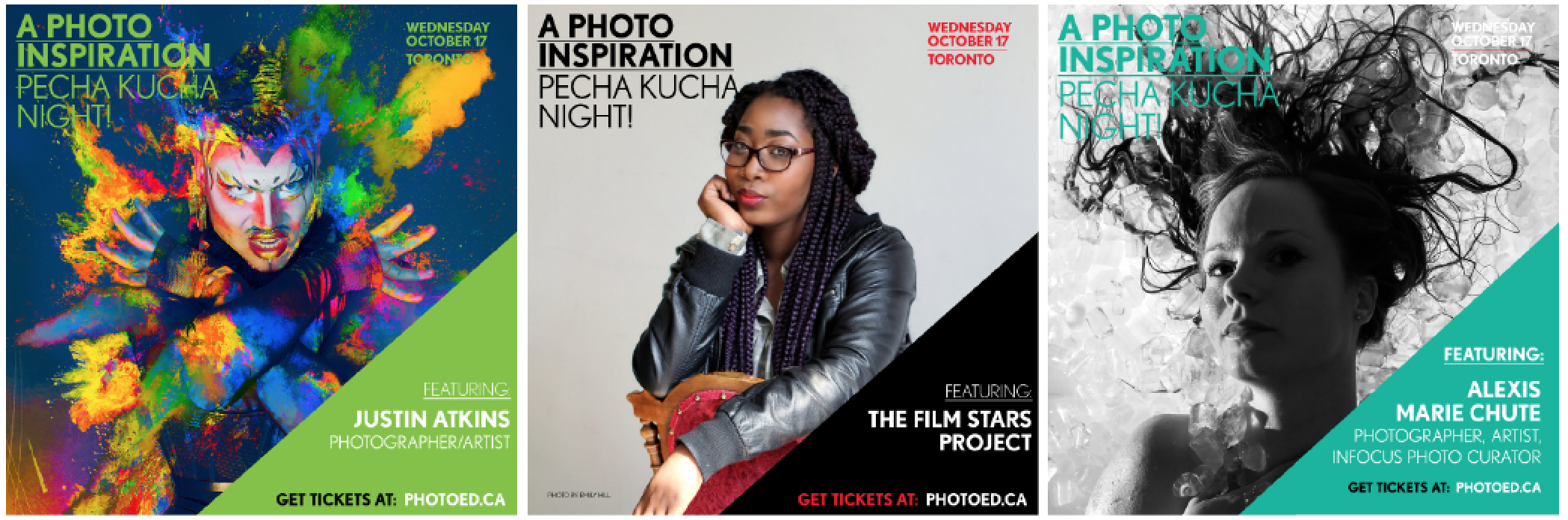 PhotoED Magazine event speakers