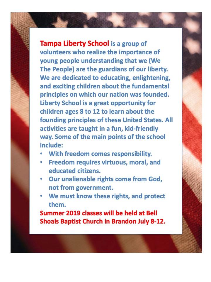 Tampa Liberty School 2019