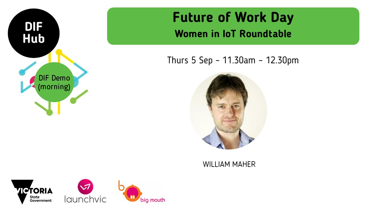 Future of Work Day - Women in IoT Roundtable