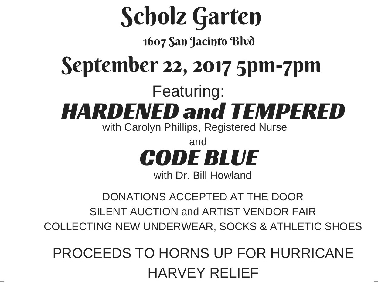 Hurricane Harvey Relief Benefit Concert