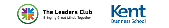 Kent Business School and Leaders Club logos