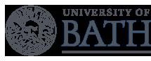 University of Bath logo in slate grey