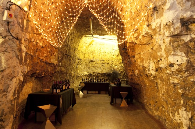 Cork, Chalk & Cheese in Our Old Chalk Mine Cellars
