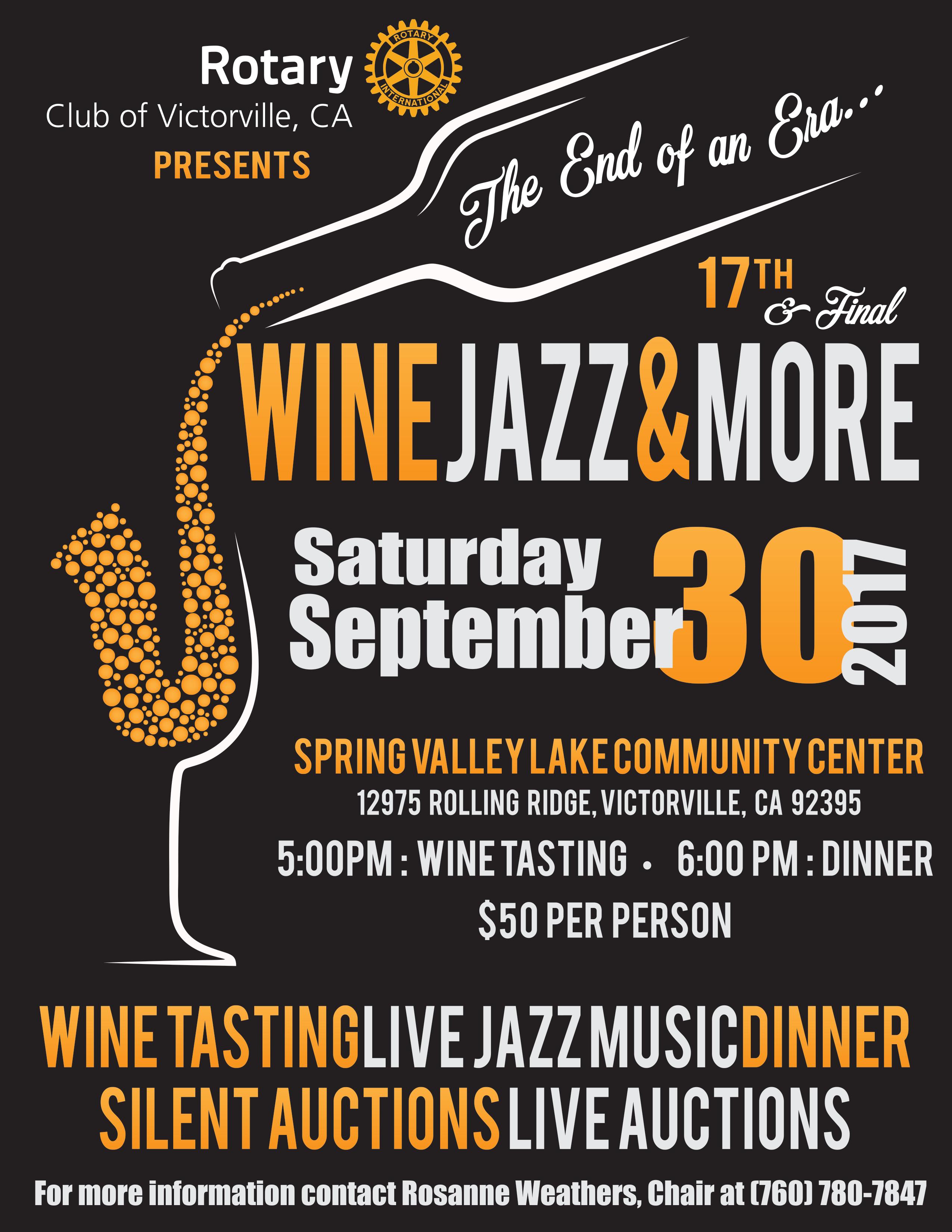 2017 Wine Jazz & More!