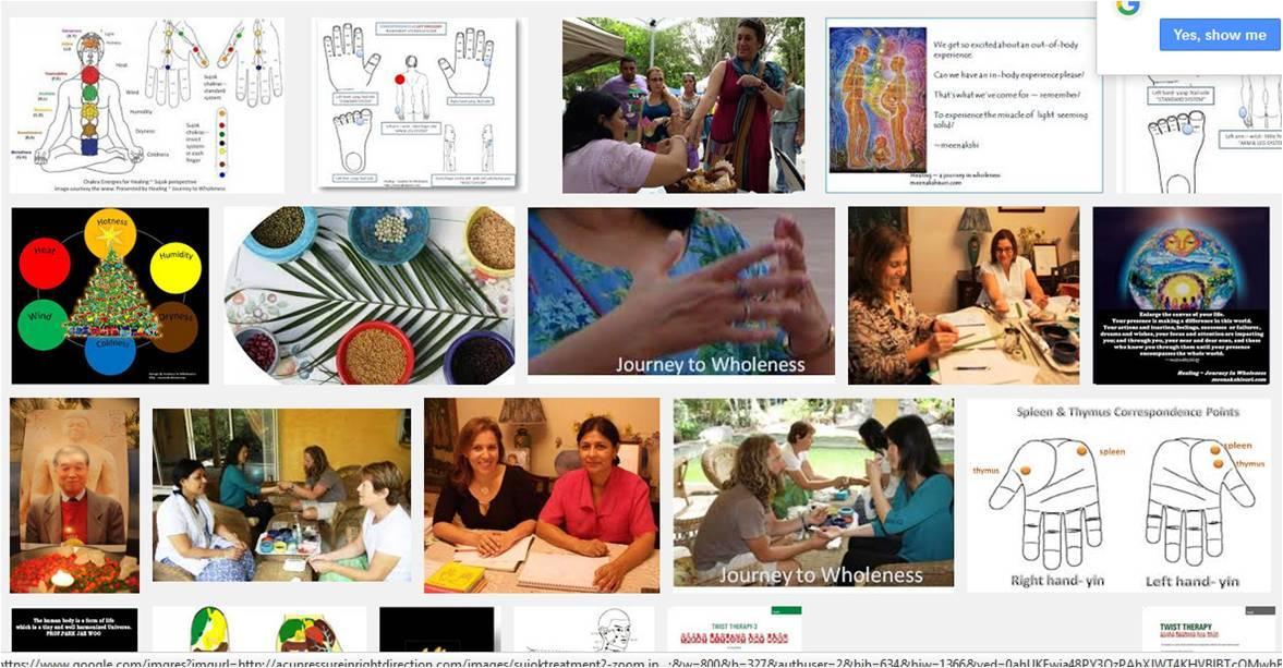 Sujok healing workshops