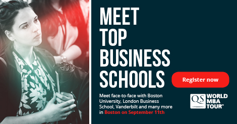 Join QS World MBA Tour and QS Connect Masters on Sept 11 in Boston!