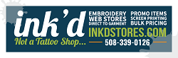 Ink'd Stores offers Custom Apparel & Promotional Products