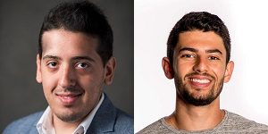Sergio Javier Abraham and Zach Zager, Co-founders of Social Spark Lab.