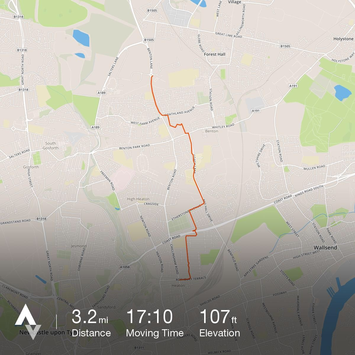 Bike train: Heaton to Quorum