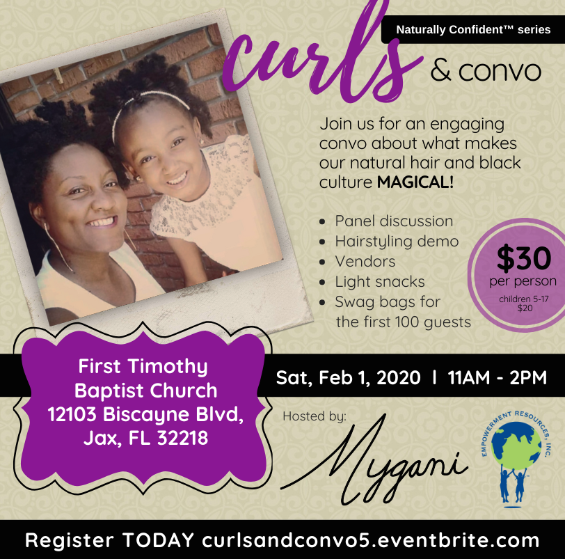 Curls and Convo 2020. Mygani LLC