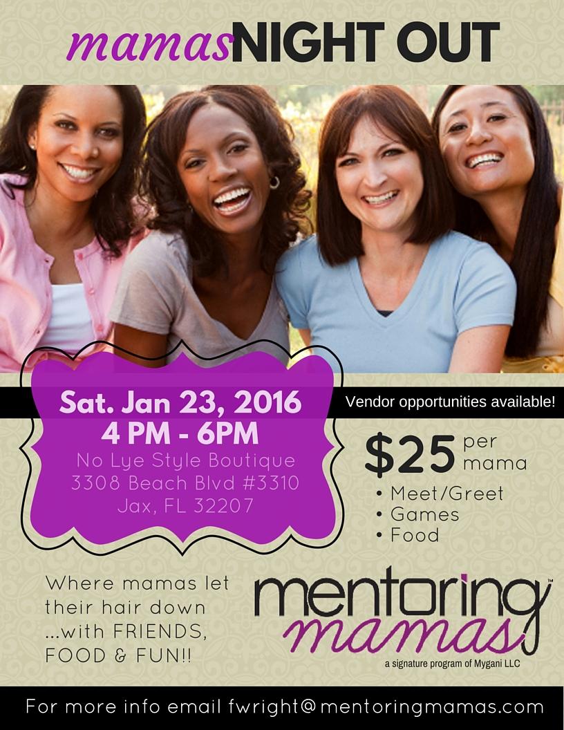 Mentoring Mamas : Mamas Night Out